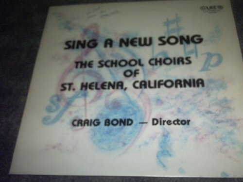 Primary image for Sing a New Song Vinyl Lp Record Album [Vinyl] THE SCHOOL CHOIRS OF ST HELENA ...