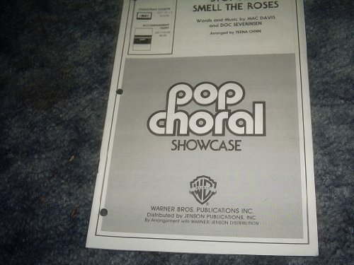 Primary image for Stop and Smell the Roses Sheet Music 1984 [Sheet music] by MAC DAVIS