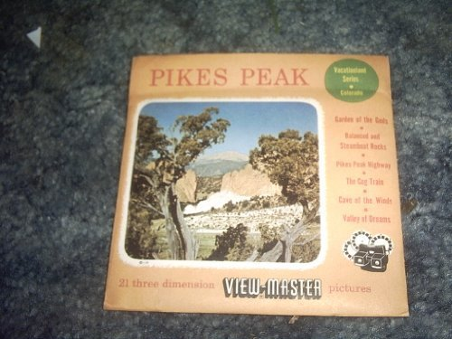 Primary image for Pikes Peak Viewmaster 3 Reel Set 51,234,245 [Cards] by VIEWMASTER
