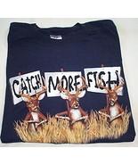 Mens NWOT Jerzees Navy Blue Short Sleeve T Shirt Size 2XL - $5.95