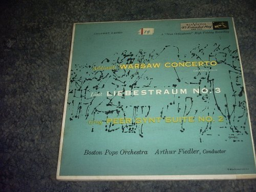 Primary image for Warsaw Concerto 45 Rpm Record [Vinyl] BOSTON POPS ORCHESTRA