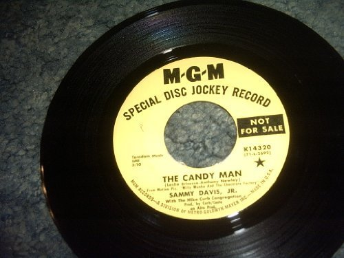 Primary image for The Candy Man-i Want to Be Happy 45 Rpm Record [Vinyl] SAMMY DAVIS JR