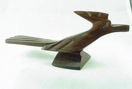 New Hand Carved Ironwood Roadrunner - $14.00