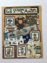 Jeanette Crews Designs Presents  Four Seasons Angels Cross Stitch  Alma... - $5.93