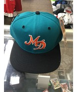 NT Vintage Miami Dolphins New Era Snapback Hat Cap New With Tags Deadstock - $79.19