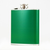 6 oz Green Pocket Hip Flask - $5.44