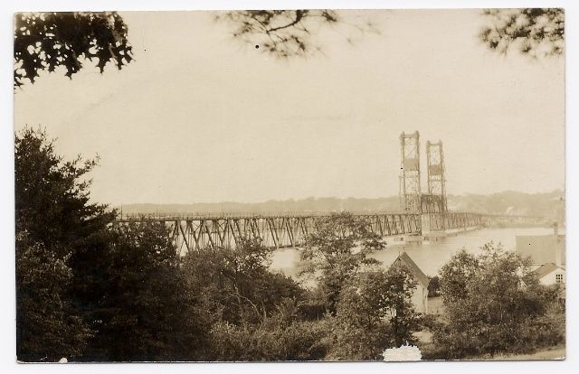 Primary image for c1910 - Northern US Bridge -  Real Photo - Defender PC - Unused