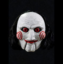 Billy Puppet Official Saw Movie Adult Latex Halloween Mask - £44.38 GBP