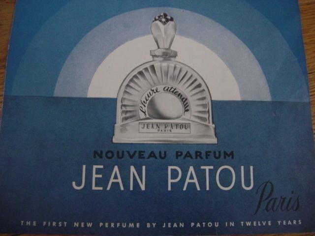 L'Heure Attendue Jean Patou PERFUME AD 1949