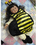 Halloween Kids Costume Baby Bumble Bee Booties Antennae  - $12.95