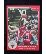 1984/85 Star Basketball #101 Michael Jordan [Chicago Bulls] Rookie {} Repro - $4.00
