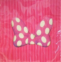Disney Minnie Mouse Classic Lunch Napkins Birthday Party Supplies16 Per ... - $5.89