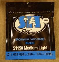 SIT S1150 Electric Guitar Strings Nickel .011 to .050 - $26.68