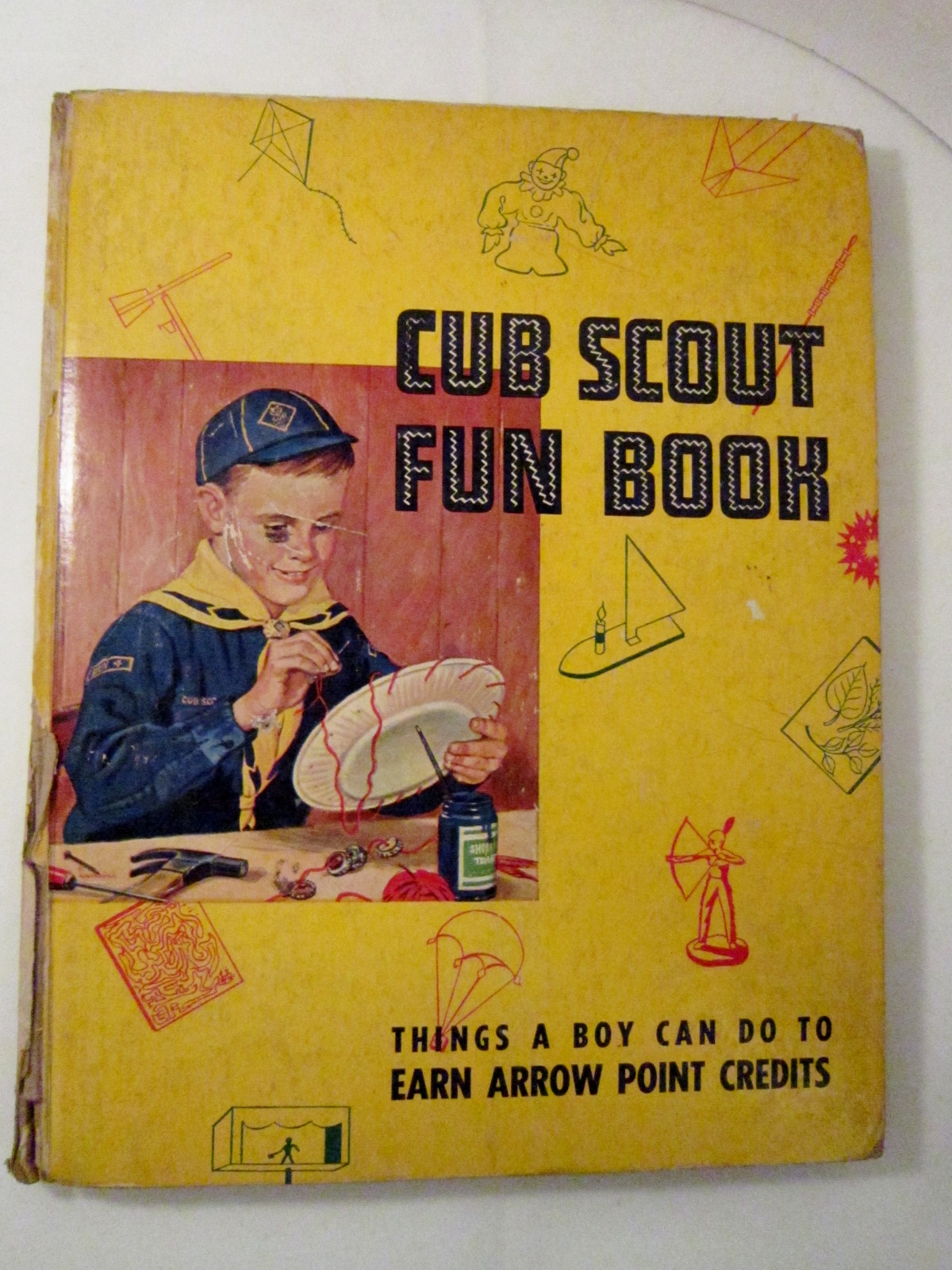 Primary image for Cub Scout Fun Book 1956 Things a Boy Can Do to Earn Arrow Points