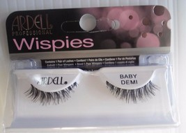 Ardell Strip Lashes Fashion Baby Demi Wispies Black (Pack of 6) - $21.97