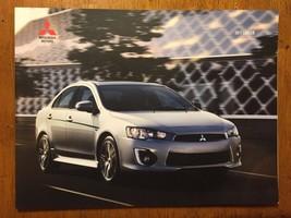 2017 Mitsubishi motors Lancer catalog sales brochure - $9.49
