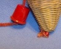 Viintage Closet Sachet Hanging Basket Style