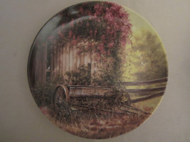THE VINTAGE SEED PLANTER collector plate MAURICE HARVEY Country Nostalgia - $19.99