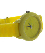 NEW Q&Q BY CITIZEN JAPAN SPORT YELLOW WATCH QUARTZ WATER RESISTANT 10 BAR - $18.61