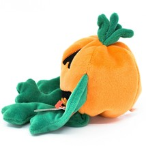 1998 TY Beanie Baby Original Pumkin Pumpkin Halloween Jack-O-Lantern Plush Toy image 2
