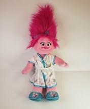 Build A Bear Poppy Pink Trolls Pink Troll In Frozen Outfit w/ Build A Bear Bag - $18.66