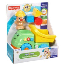 Fisher Price Laugh & Learn - Puppy's Dump Truck - BHC00 - New - $29.36