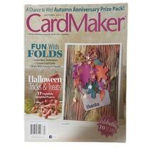 CardMaker Craft Magazine Fun w/Folds Halloween Tricks & Treats 17 Projec... - $5.99