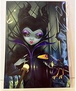 """NEW Disney WonderGround Gallery """"Maleficent Enthroned"""" by Jasmine Becket... - $86.89"""