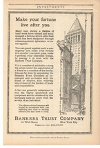 1916 Bankers Trust Company New York City Advertisement Special Summer Sale Advertising