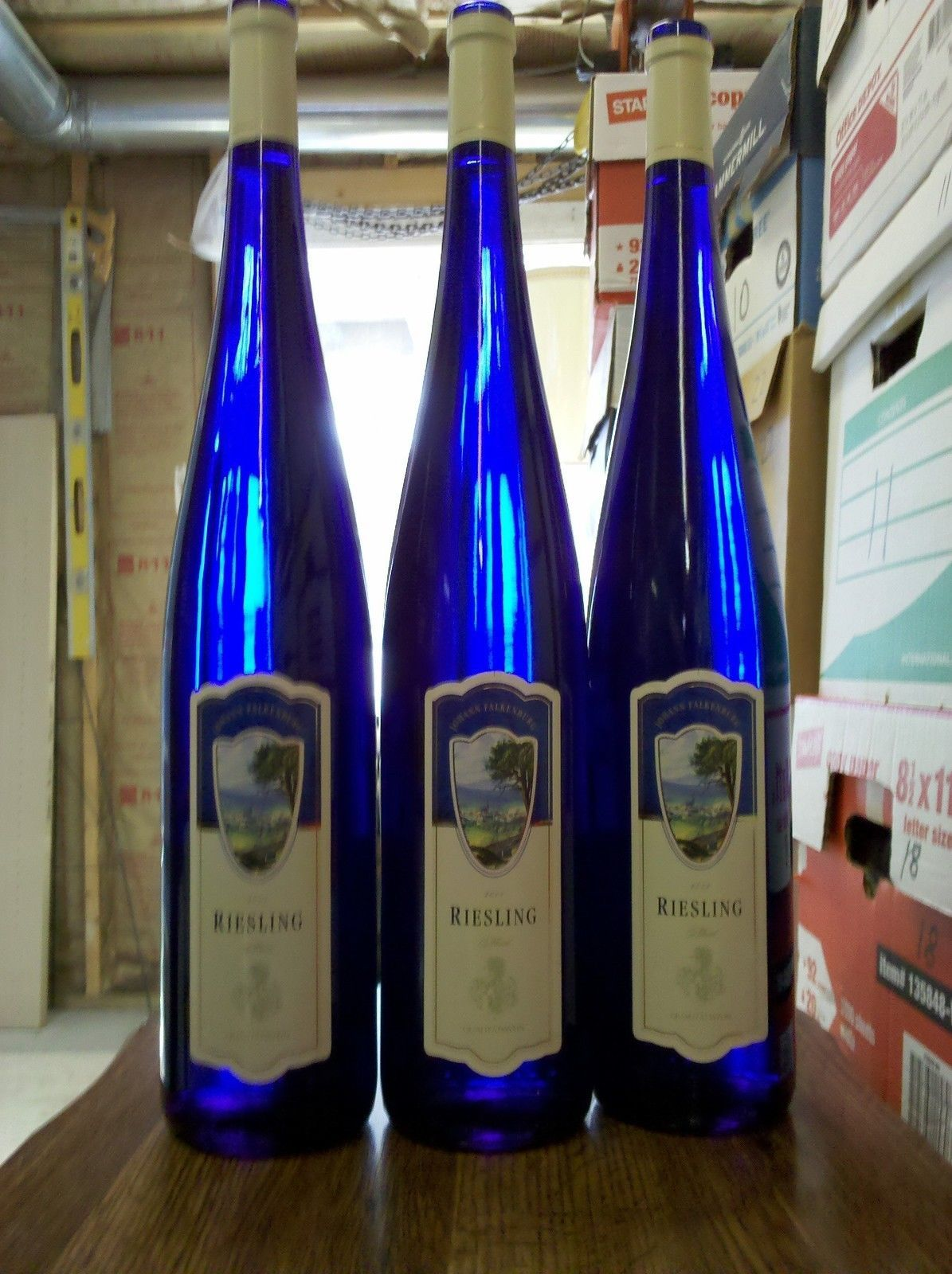 7h09 Cobalt Blue 19 Quot Tall Riesling Wine And 50 Similar Items