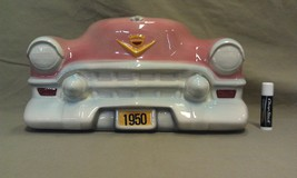 9F28 Vtg 1950 Cadillac Front End Ceramic Wall H... - $48.00