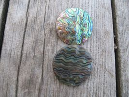 Vintage sterling silver Abalone Shell scatter P... - $26.00