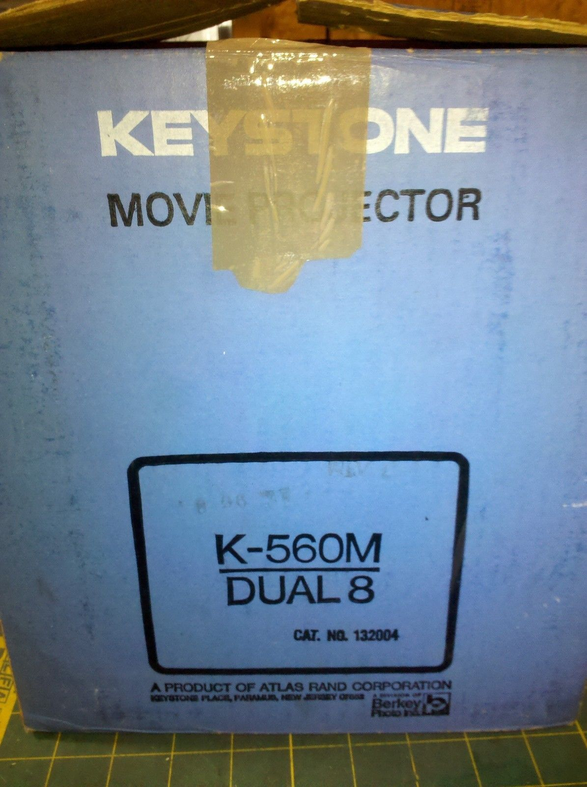 7d52 Keystone 8 Mm Film Projector, Light And and 50 similar items