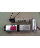 9C16 CAPACITOR ASSORTMENT, 5 PCS: 2100VAC 1.00, 0.95MF; 250VAC 3.0, 23.5... - $27.12