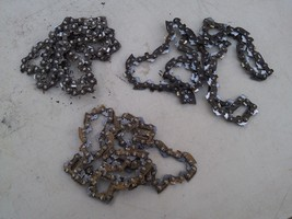 """6D97 3 PACK 16"""" CHAINS FROM CRAFTSMAN CHAIN SAW, UNSHARPENED, STILL HAVE... - $17.77"""