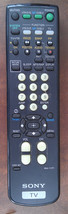 6N68 SONY RM-Y171 REMOTE FOR TV, VERY GOOD CONDITION - $17.77