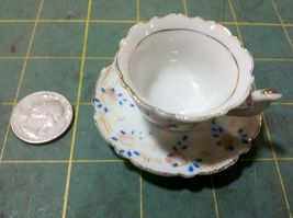 3Z33 MINI CUP & SAUCER, MADE IN JAPAN, SAUCER I... - $8.60