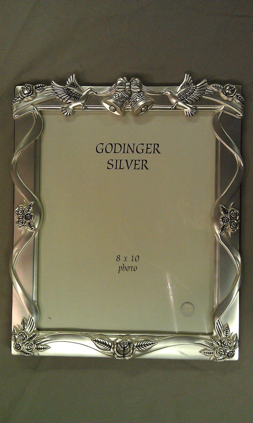 8P76 Godinger Silver Wedding Album Frame and 50 similar items