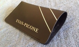 8A60 Vtg Evan-Picone Italy Soft Black Eyeglasses Case MINT COND! - $50.77
