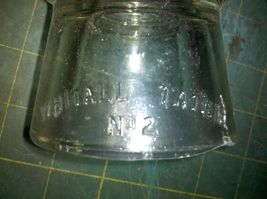 6Z65 SET OF 4 OLD GLASS INSULATORS, HEMINGRAY 56, ARMSTRONG 2 & DP1, WHI... - $29.55