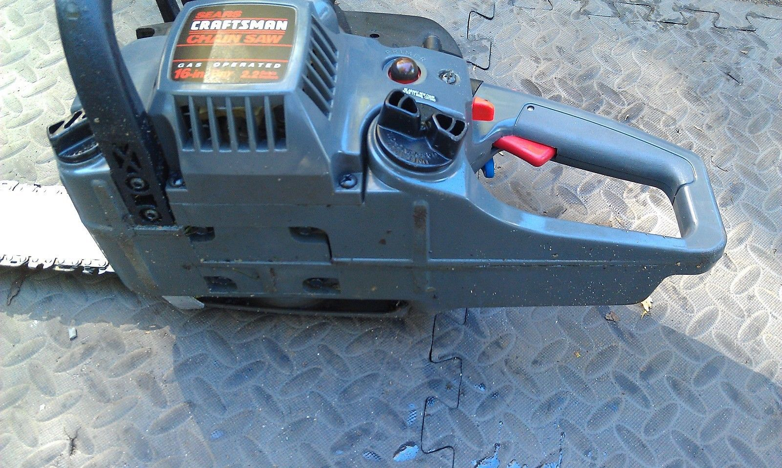 Old Craftsman Chainsaw Parts : M craftsman chain saw  quot bar needs new