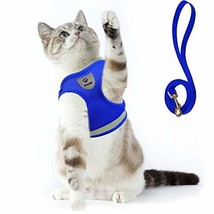"""Cat Harness and Leash Set for Walking Small (Medium (Chest: 13"""" - 16"""")