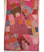Exquisite Vintage Unique Rajastani Wallhanging. Hand-crafted, recycled. ... - $90.00