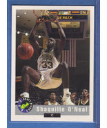 1992 Classic DRAFT PICK #1 SHAQUILLE O'NEAL SHAQ ROOKIE - $4.99