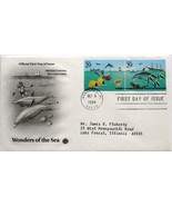 Oct. 3, 1994 First Day of Issue PC Society Cover Wonders of the Sea-Crea... - €1,14 EUR