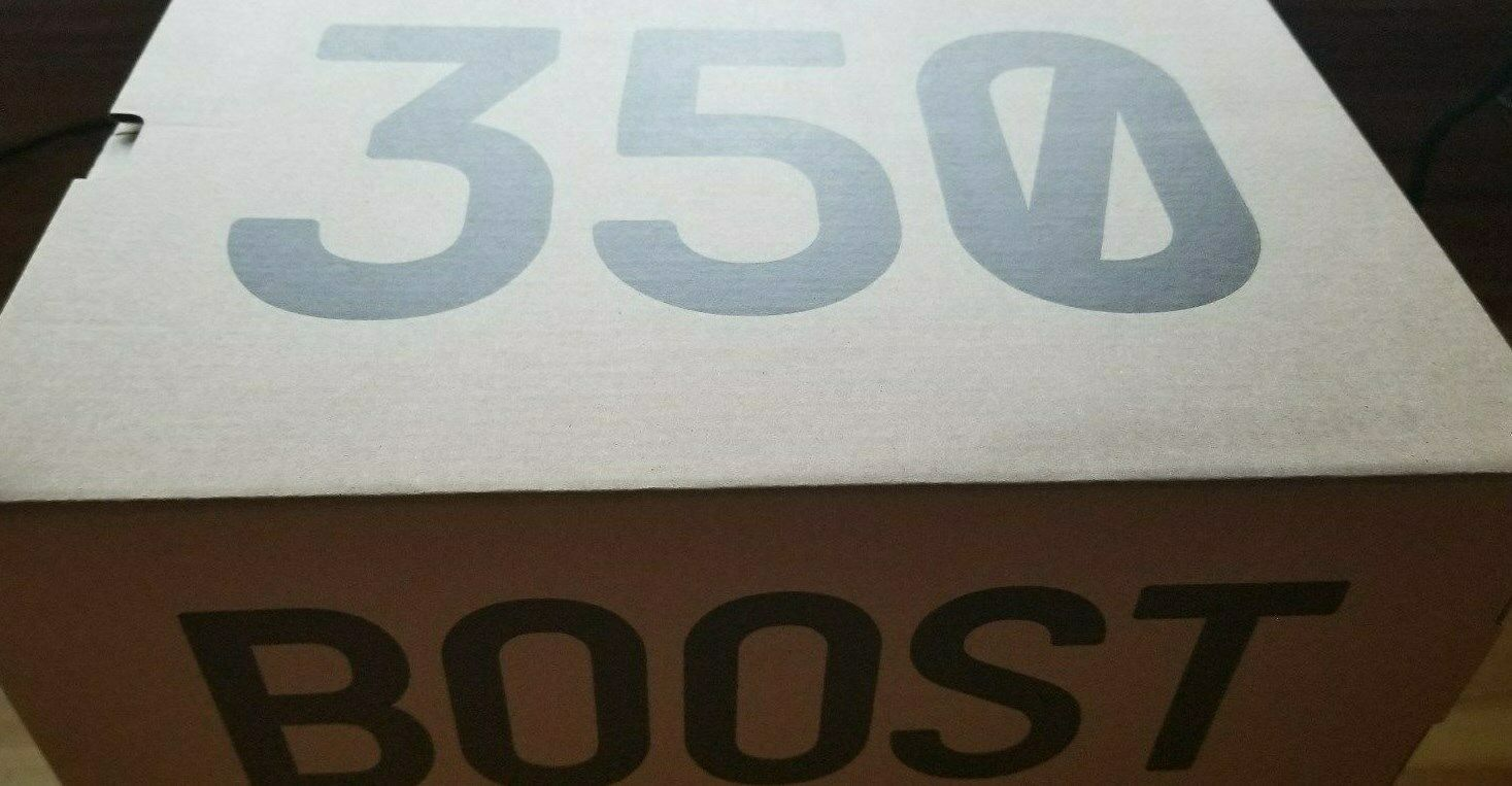 Neu Adidas Yeezy 350 V2 Creme Weiß CP9366 Brand Neu Im Karton image 4