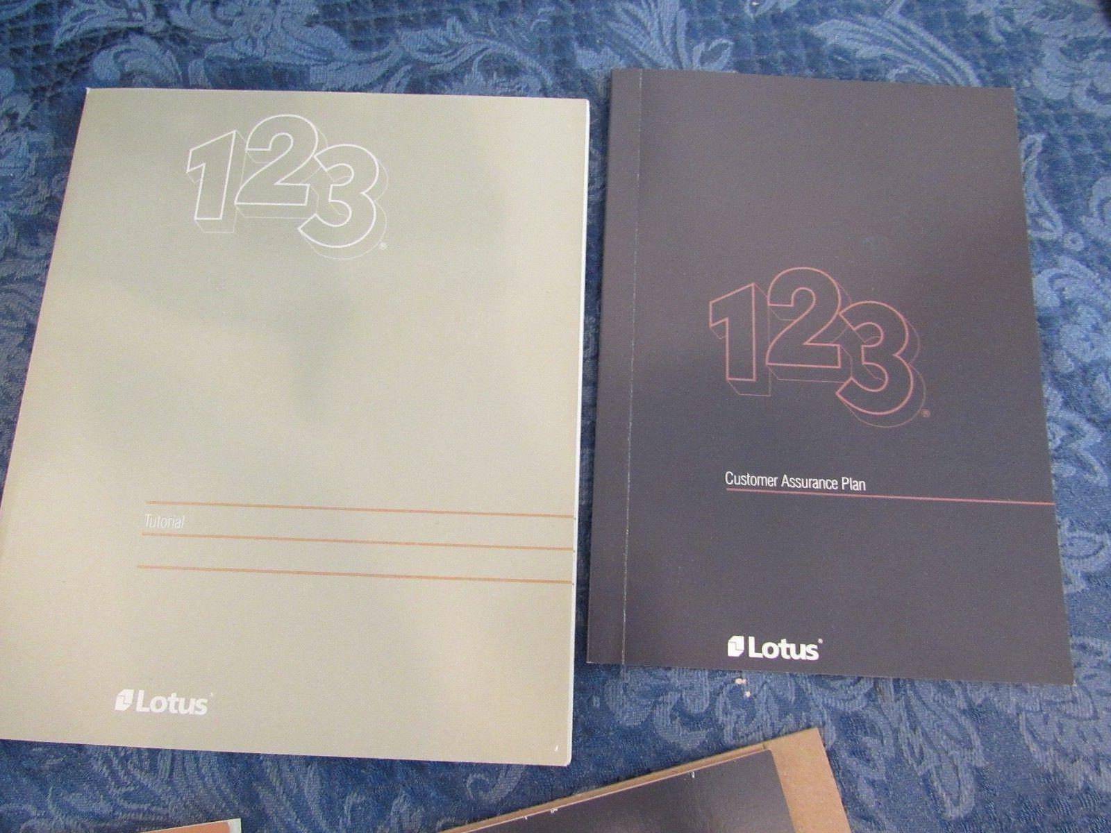 Lotus 123 Release 2 DOS IBM PC 5.25 Disks - Books Case Templates 1985
