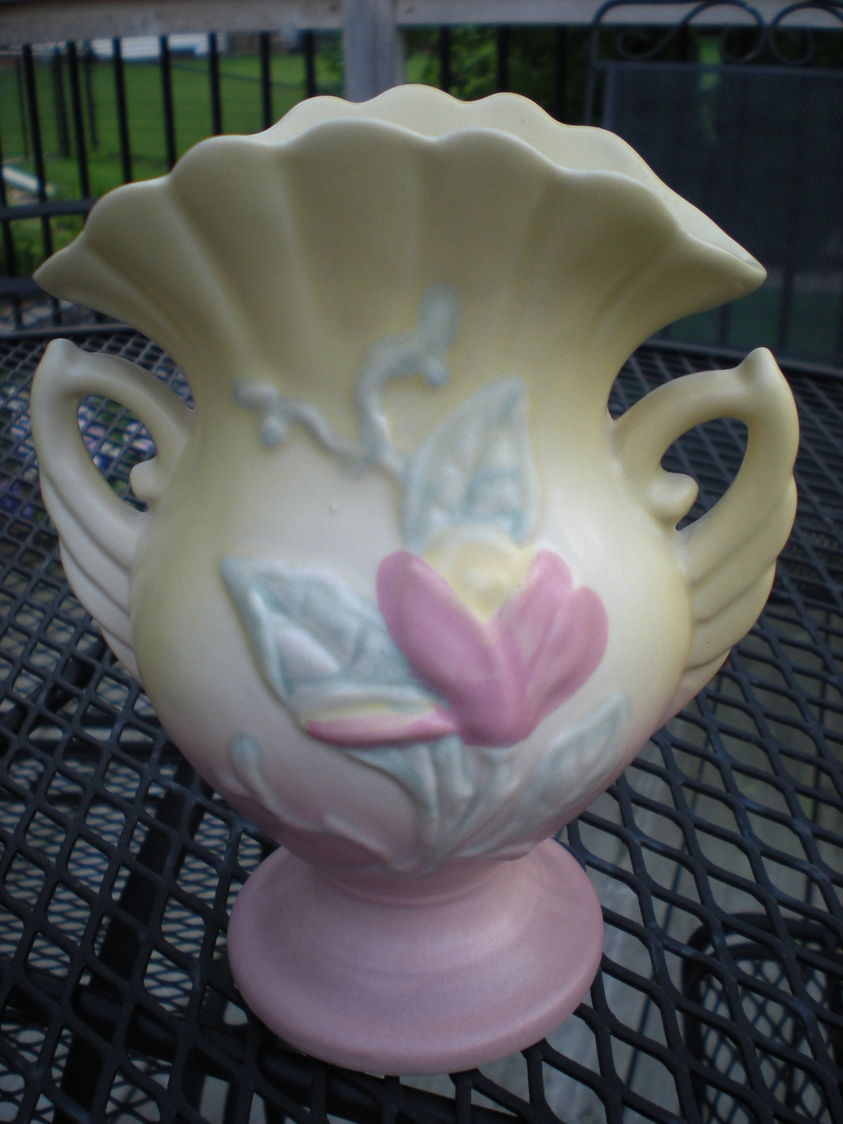Hull Pottery Magnolia Vase Price Reduced Other