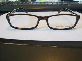 NEW Michael Kors MK 673 206 Havana Women Authentic Eyeglasses Frame 53-17-140 - $63.36