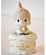 Precious Moments Figurine Birthday cake boy The... - $9.99